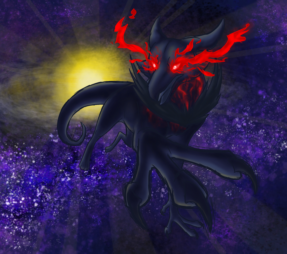 Speedpaint: Red the Elohiem by Iron-Zing