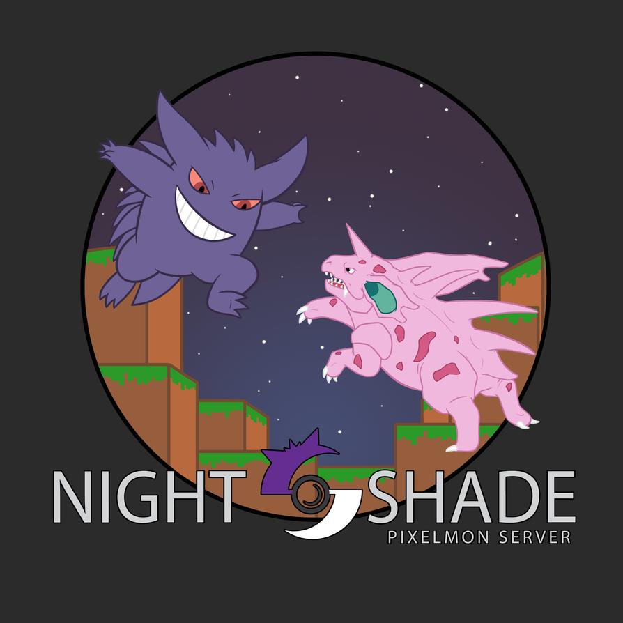 Nightshade Pixelmon tshirt #2 by Iron-Zing