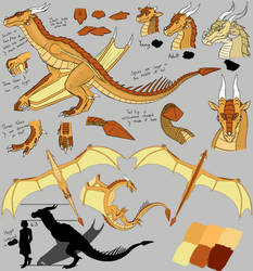 Golden Dragon concept from [REDACTED]