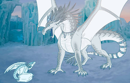 Wings of Fire- Prince Arctic's childhood