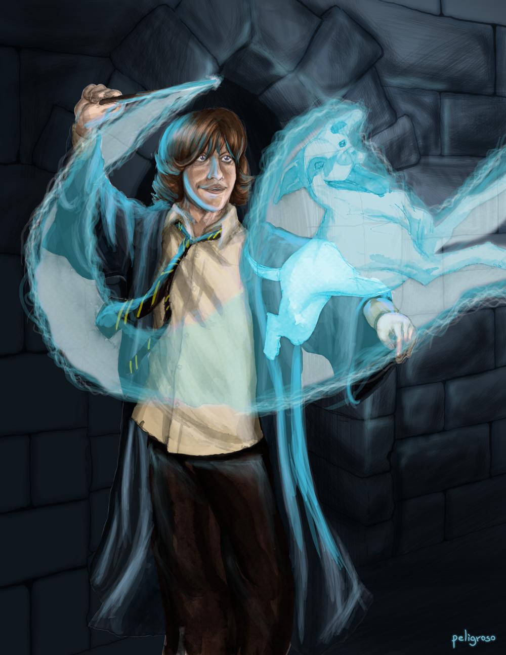 Patronus de Ron Weasley by peligrosocool on DeviantArt  |Ron Weasley Patronus