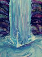Waterfall by sugardove123