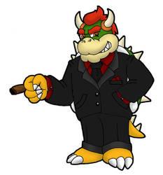 Big Boss Bowser by DarkCobalt86
