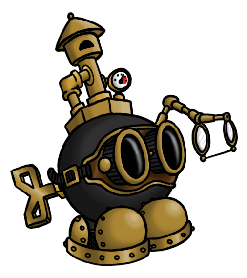 Steampunk Bob-Omb by DarkCobalt86