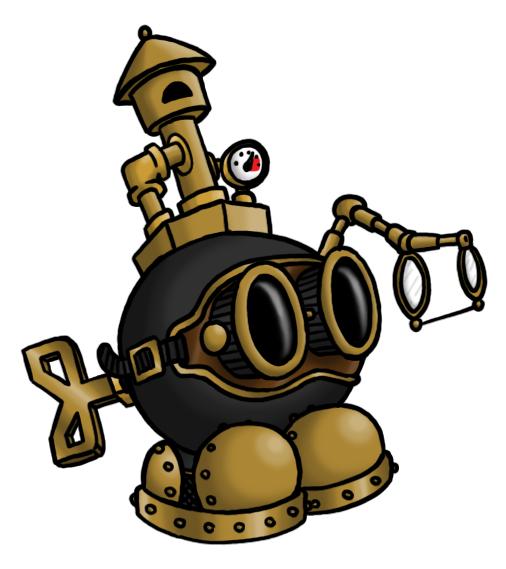 Steampunk Bob-Omb by DarkCobalt86