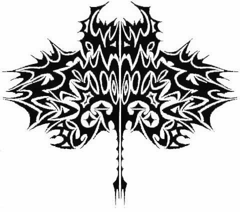 Tribal Sting Ray by DarkCobalt86