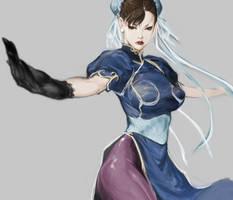 Chun-Li by masateru