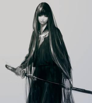 Uniform Japanese sword