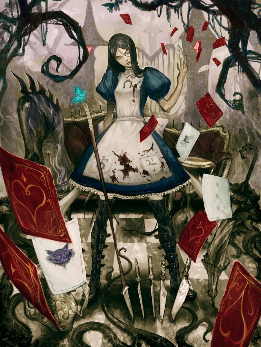 alice in wonderland madness returns art