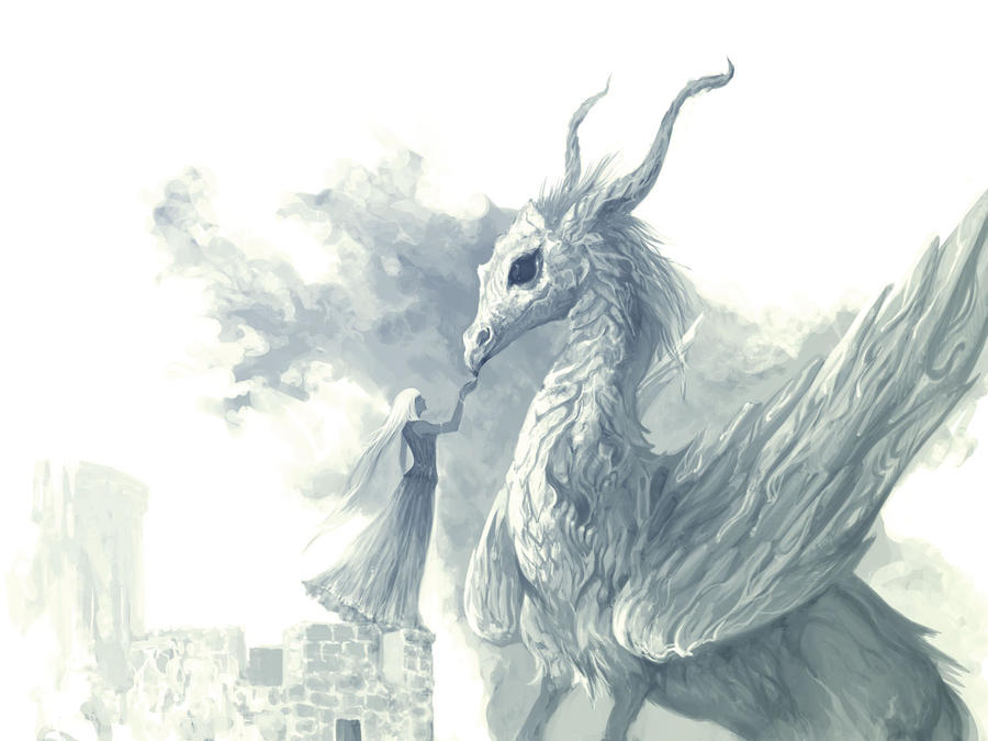волосы картинки с драконами