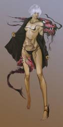 dragon Woman120104 by masateru