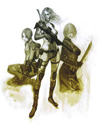 Resident Evil USS women120117 by masateru