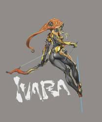 warframe ivara by masateru