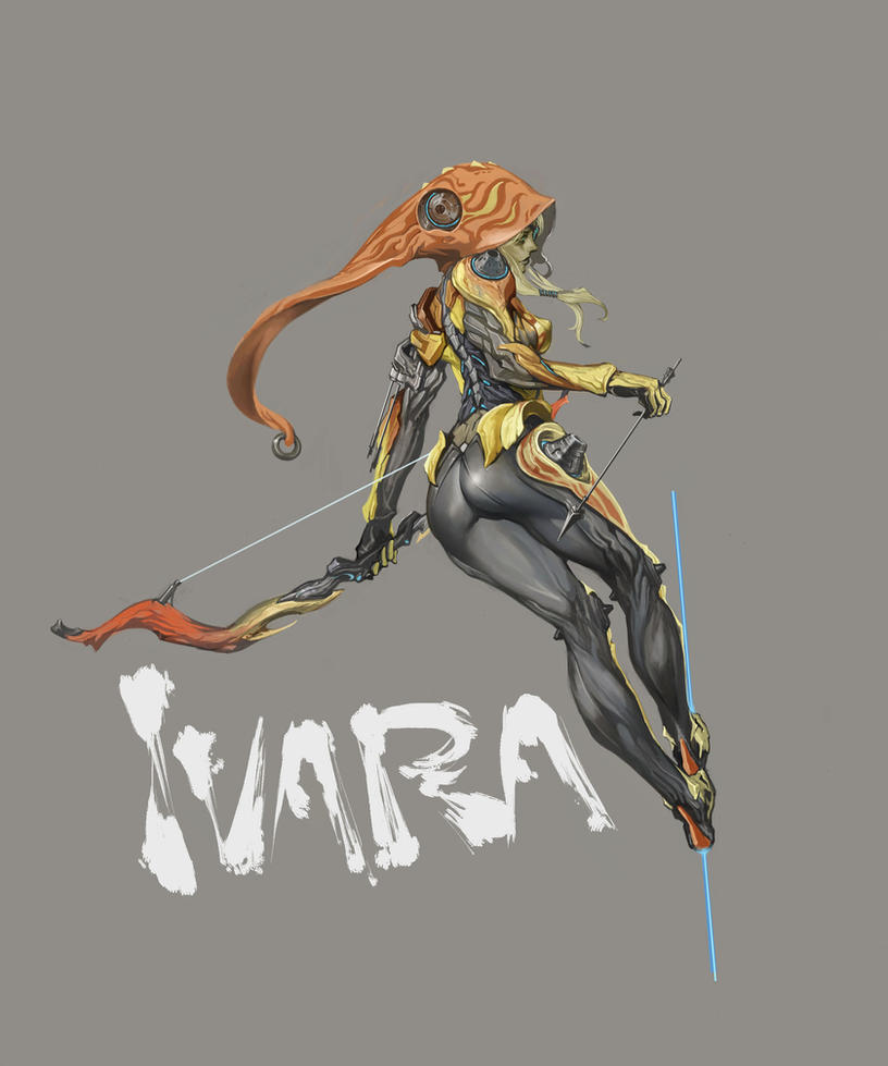 warframe ivara by masateru