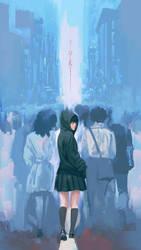 fan art The Silver Case yuki
