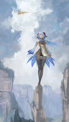 fan art Genshin Impact