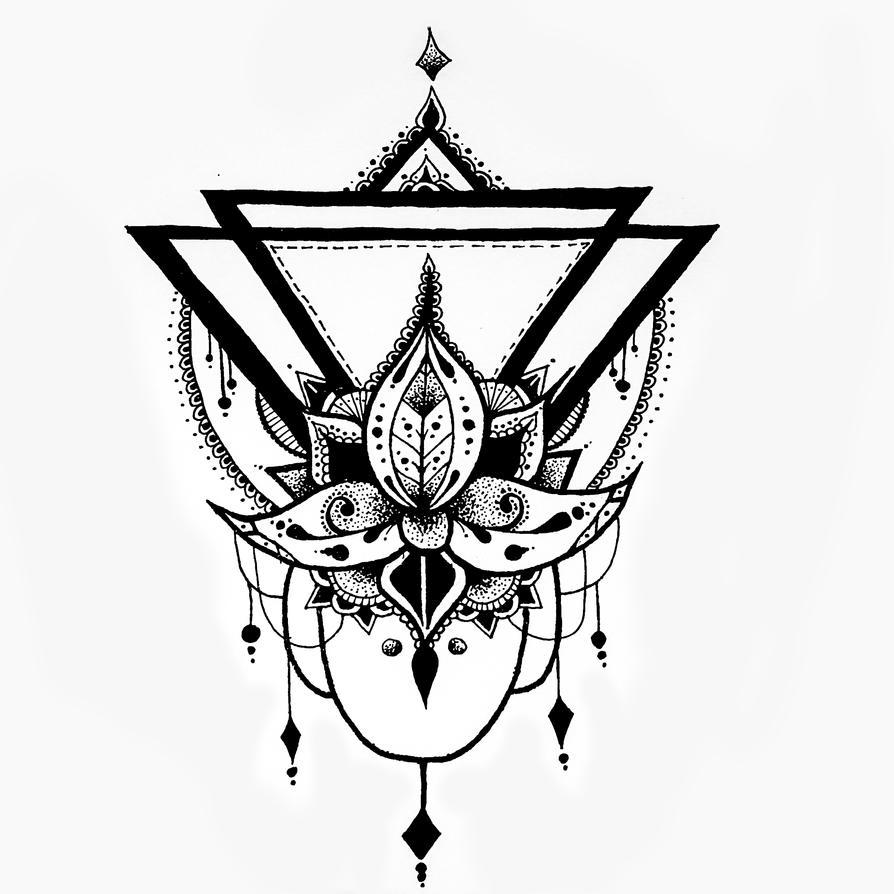 Lotus flower geometric drawing by kroko69 on deviantart lotus flower geometric drawing by kroko69 izmirmasajfo Images