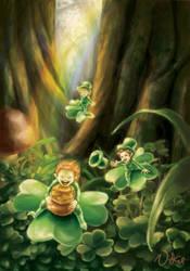 A Little Leprechaun Luck by puppetdemon
