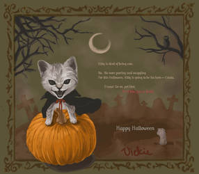 Halloween 08: Catula by puppetdemon