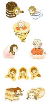 Hetalia desserts