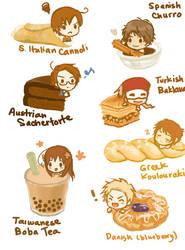 Hetalia Desserts 2