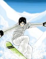 Snowboard Hisagi by puppetdemon