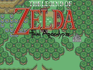 The Legend of Zelda: Final Apocalypse Title Card by KashimaDAC