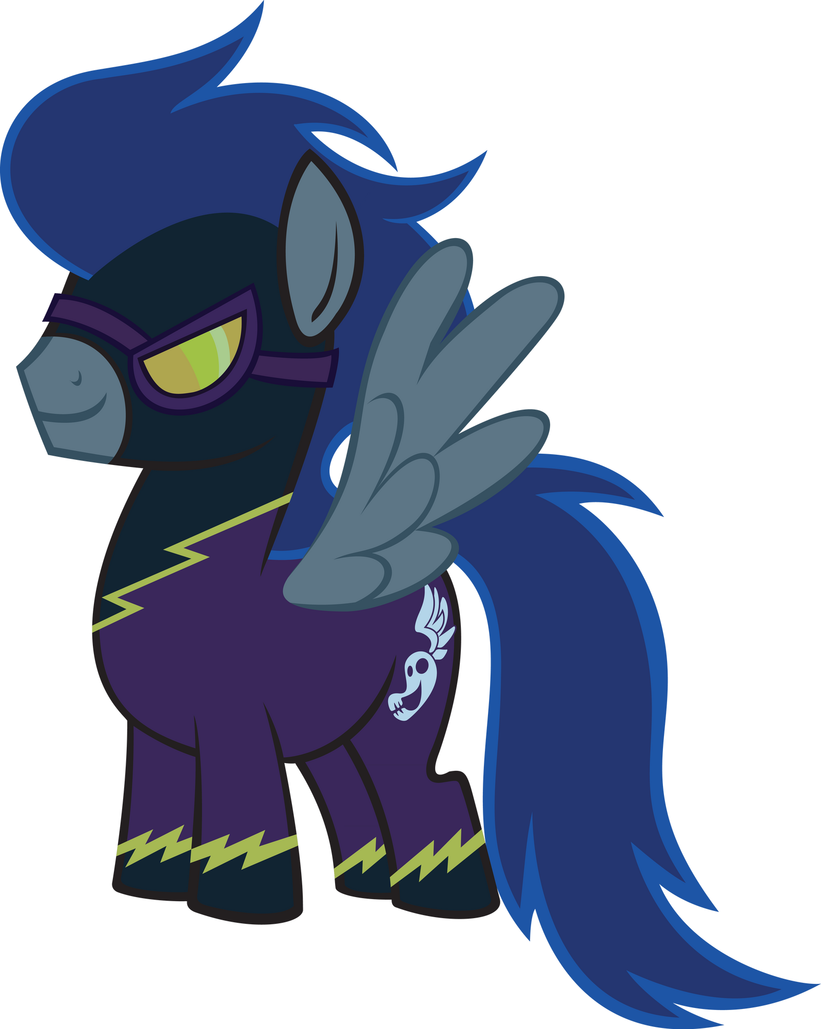 Male Shadowbolt vector by AjgorB25