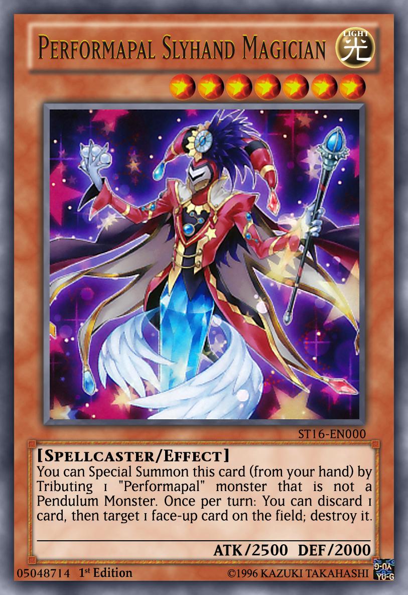 Performapal Slyhand Magician Yugioh OCG by yeidenex on ...
