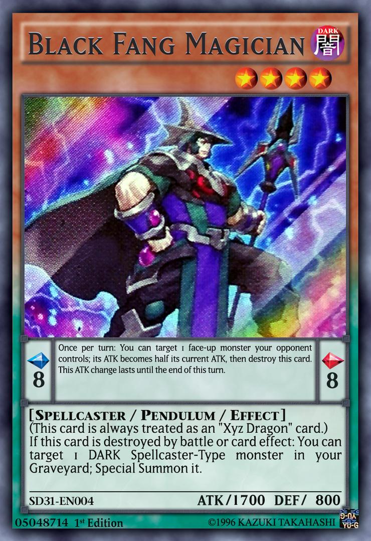 black fang magician yugioh ocg by yeidenex on deviantart