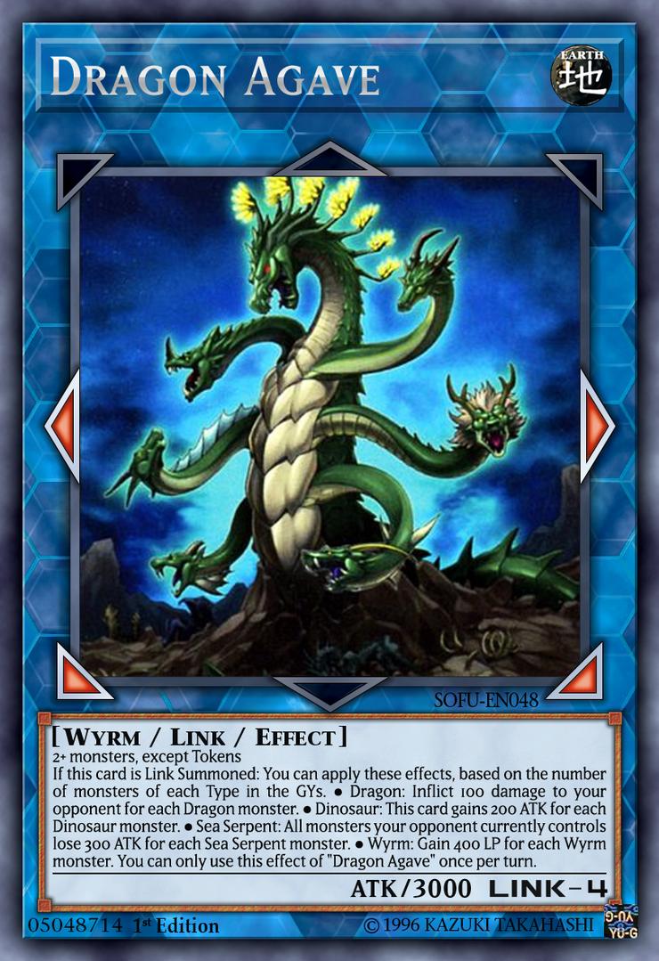 Dragon Agave Yugioh by yeidenex