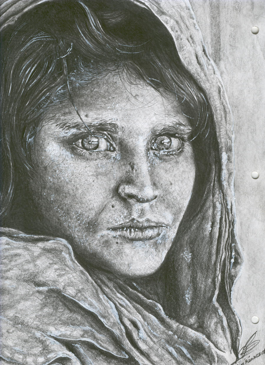 Image result for old woman in punjab sketch