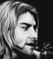 Kurt Cobain by Nelson-Ramazzotti