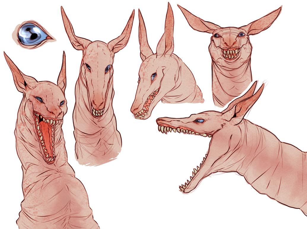 weird giraffe by supascrag