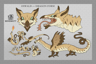 OSWALD - DRAGON FORM REFERENCE
