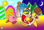 Dedede vs Kirby