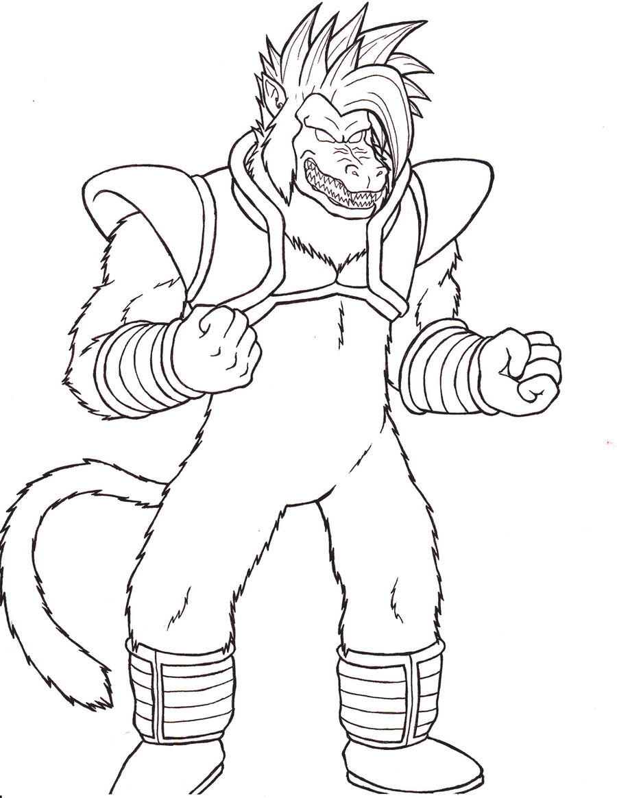 baby vegeta coloring pages dragon ball gt baby vegeta coloring