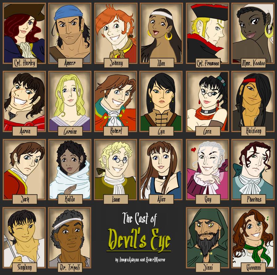 + The Cast of Devil's Eye +