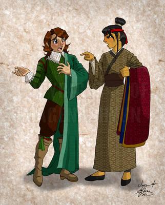 Hanfu vs. Doublet by ImagenAshyun