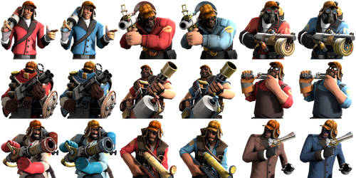 Custom class icons compilation