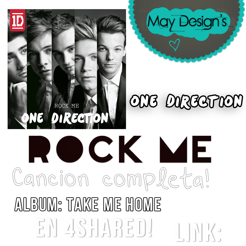 One Direction Rock Me Album Cover Rock Me - One Directio...