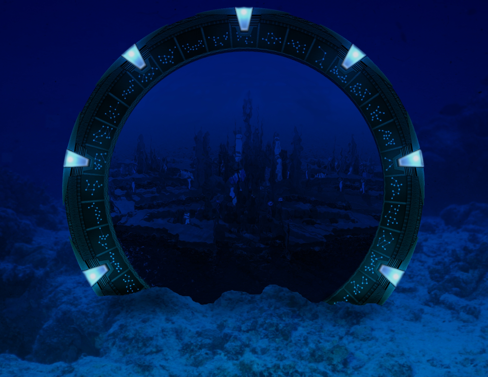 Stargate Atlantis by YanaFynn