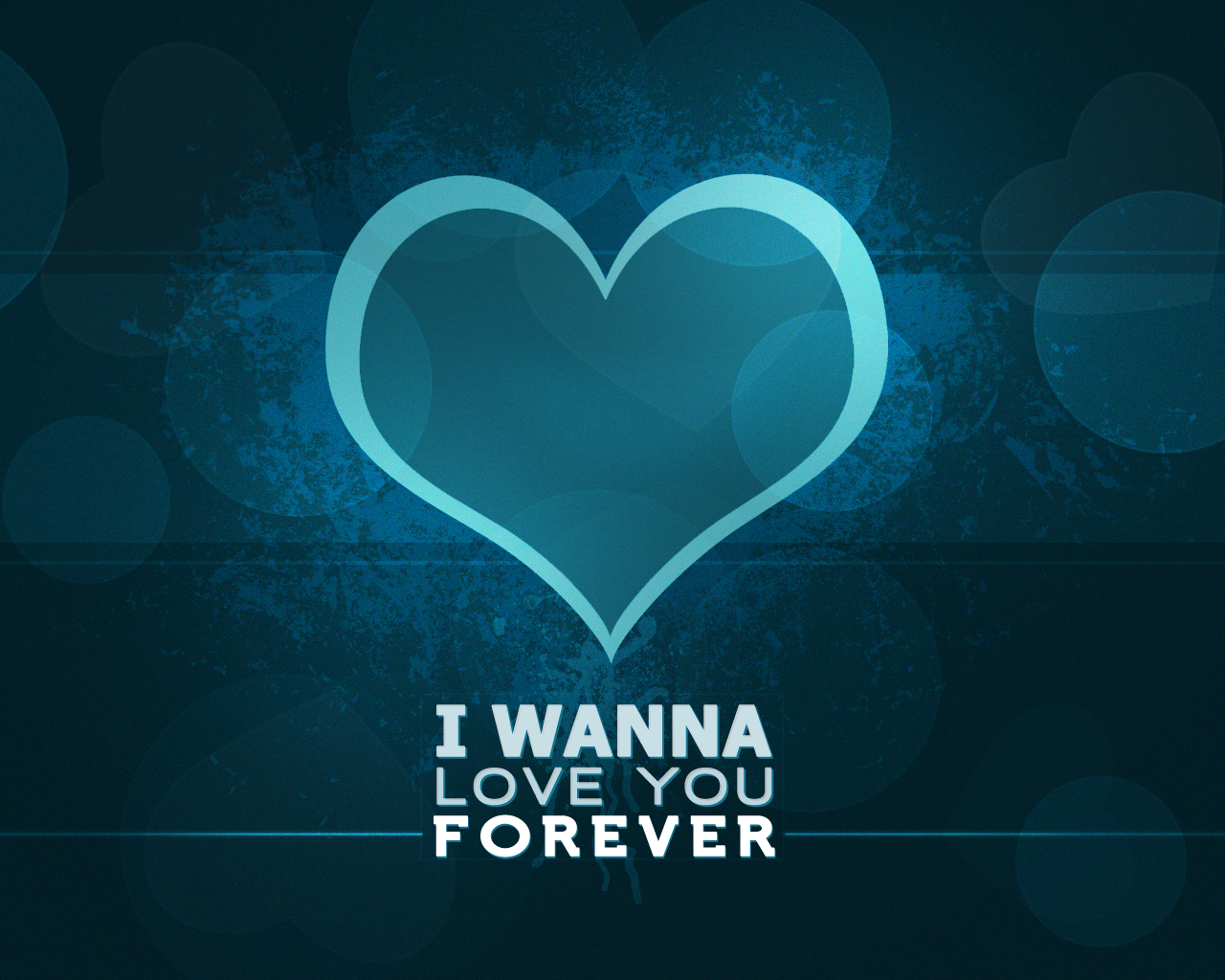 Wallpaper - I Wanna Love You Forever by diigu on DeviantArt