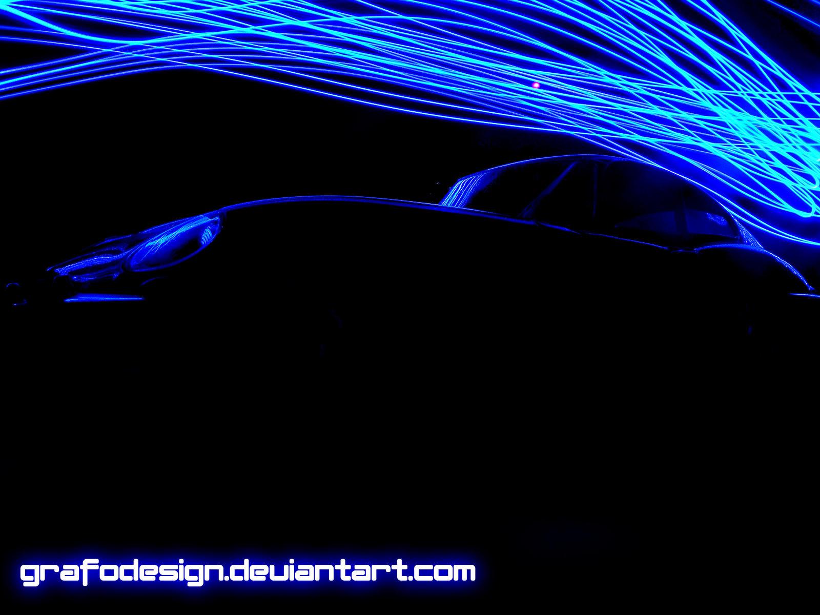 blue led wallpaper - photo #4