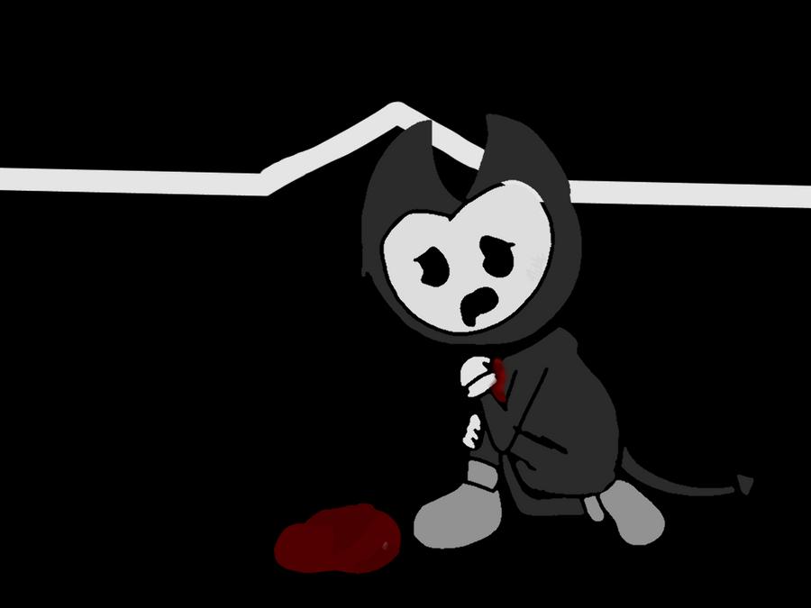 Bendy Sad: Sad Bendy Art (EDGE WARNING) By NikkiDraws342 On DeviantArt