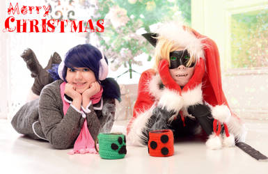 Miraculous Ladybug and Chat Noir (Merry Christmas)