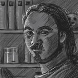 Self Portait Sketch