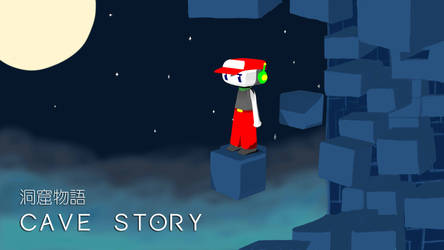 Cave Story Title Card by CoroQuetz