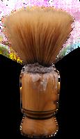 Old Shaving Brush by mistyt-stock
