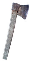 rusty ax